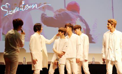 [스타캐스트] 세븐틴 예쁘다 활동 비하인드 사진 공개 #SEVENTEEN 21