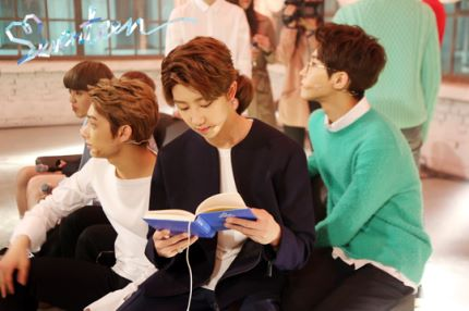 [스타캐스트] 세븐틴 예쁘다 활동 비하인드 사진 공개 #SEVENTEEN 4