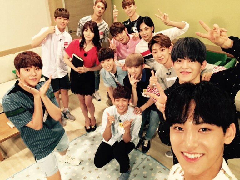 [OFFICIAL] 160619 MBC 마이 리틀 텔레비전 Twitter Update #세븐틴 #SEVENTEEN