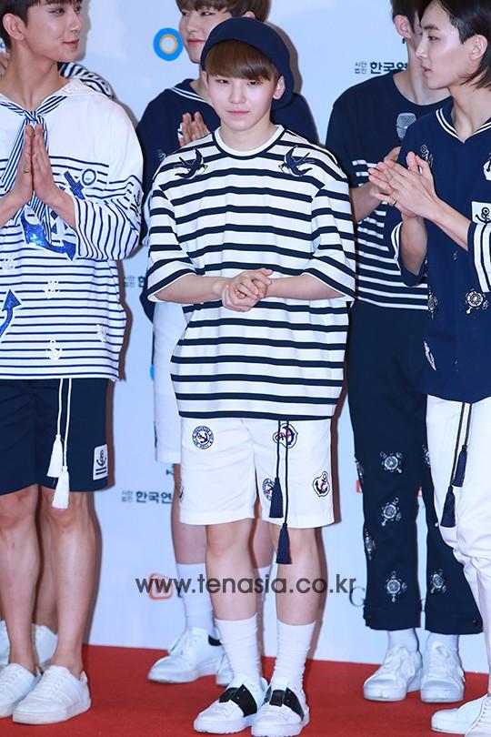 [PRESS] 160603 SEVENTEEN at 2016 Dream Concert (Red Carpet + Stage Photos) #세븐틴 #SEVENTEEN (15)