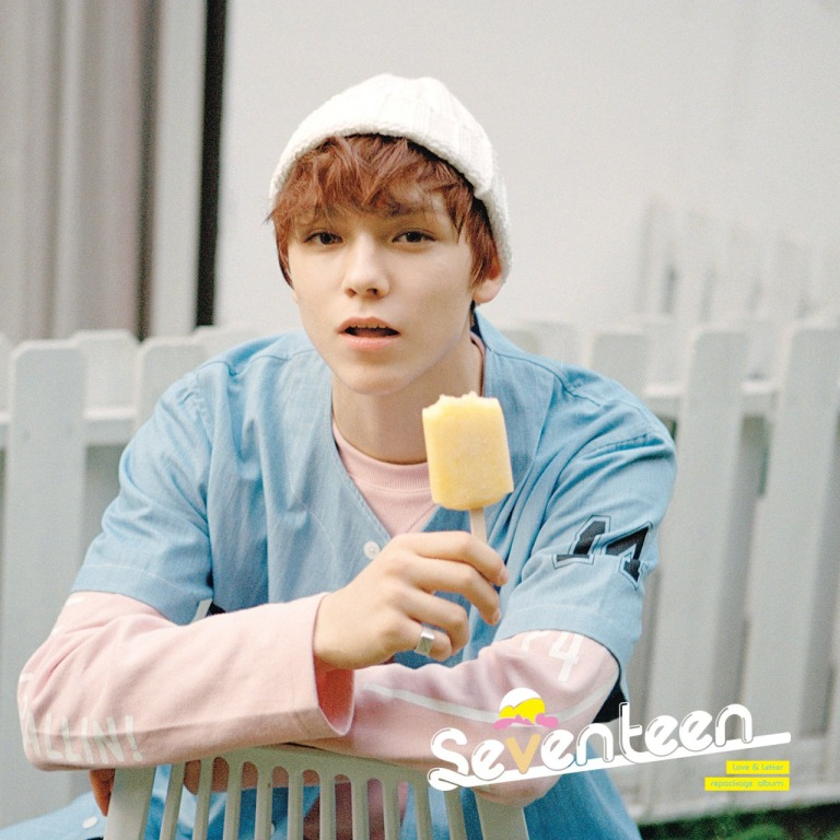 [SEVENTEEN NEWS]  'Love & Letter' repackage album OFFICIAL PHOTO 01 #160704 #VERNON #SEVENTEEN #아주NICE #VERY #NICE