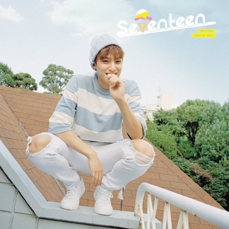 [SEVENTEEN NEWS] 'Love & Letter' repackage album OFFICIAL PHOTO 02 #160704 #MINGYU #SEVENTEEN #아주NICE #VERY #NICE