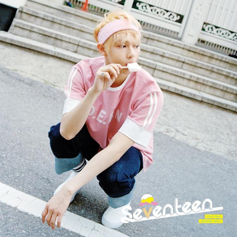 [SEVENTEEN NEWS] 'Love & Letter' repackage album OFFICIAL PHOTO 07 #160704 #JUN #SEVENTEEN #아주NICE #VERY #NICE