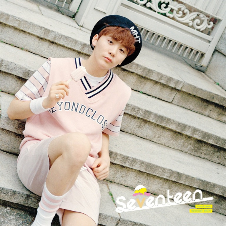 [SEVENTEEN NEWS] 'Love & Letter' repackage album OFFICIAL PHOTO 12 #160704 #SEUNGKWAN #SEVENTEEN #아주NICE #VERY #NICE