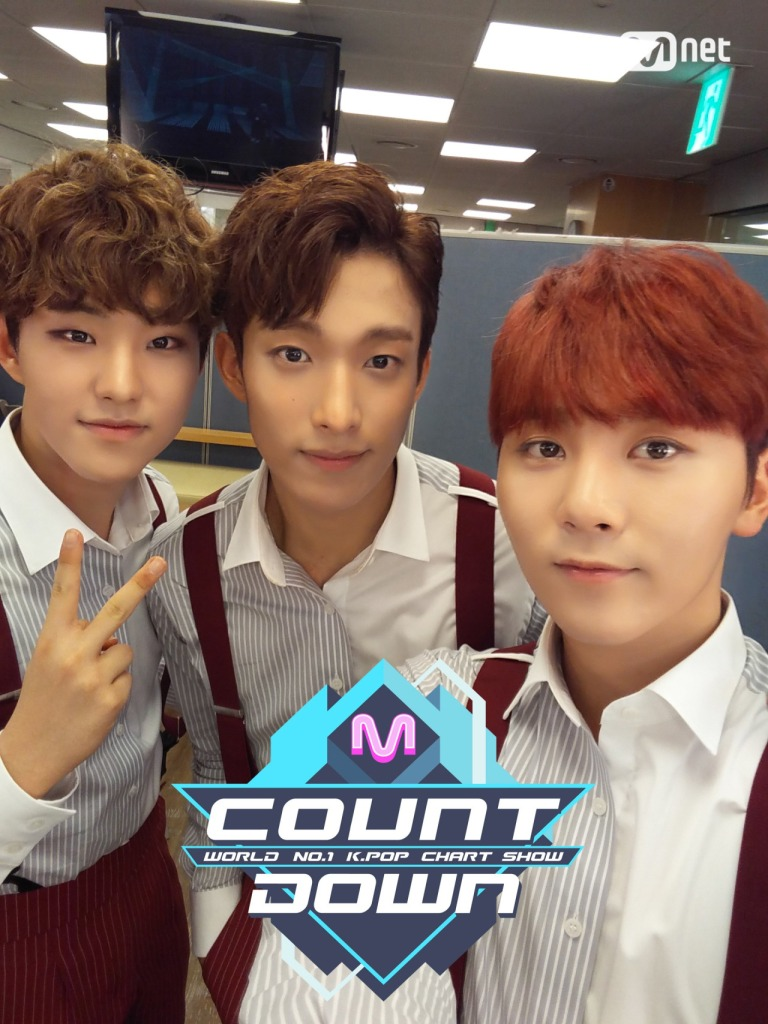 [OFFICIAL] 160707 MCOUNTDOWN Twitter Update #세븐틴 #아주NICE 4