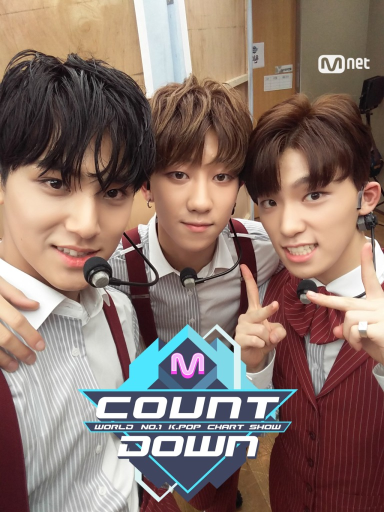 [OFFICIAL] 160707 MCOUNTDOWN Twitter Update #세븐틴 #아주NICE