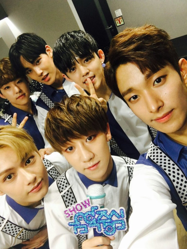 [OFFICIAL] 160709 Music Core Twitter Update #세븐틴 #SEVENTEEN 2