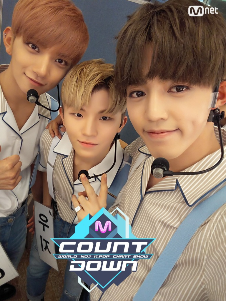 [OFFICIAL] 160721 MCOUNTDOWN Twitter Update #세븐틴 #아주NICE 1