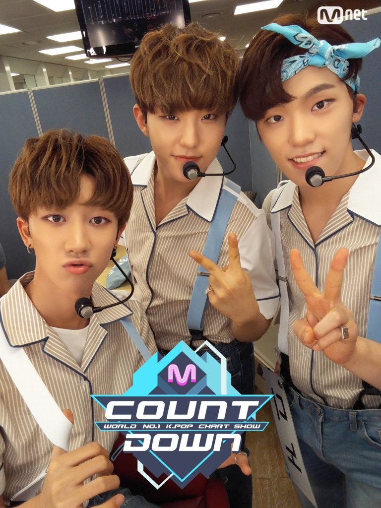 [OFFICIAL] 160721 MCOUNTDOWN Twitter Update #세븐틴 #아주NICE 3