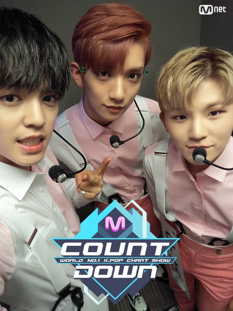 [OFFICIAL] 160714 MCOUNTDOWN Twitter Update #세븐틴 #아주NICE 1